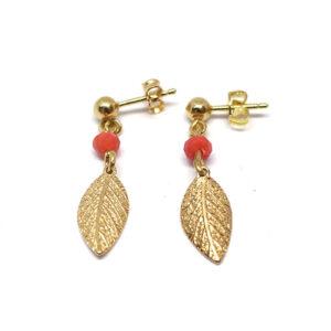 Boucles d'oreilles YEPA dorées