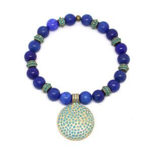 bracelet MAHAKALA verre