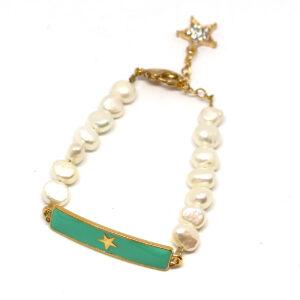 Bracelet perles d'eau douce FAR WEST